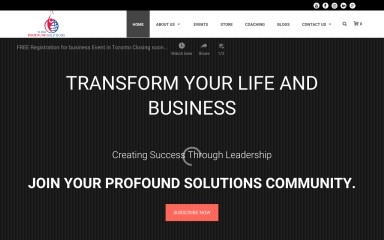 yourprofoundsolutions.com screenshot