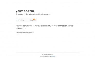 yoursite.com screenshot