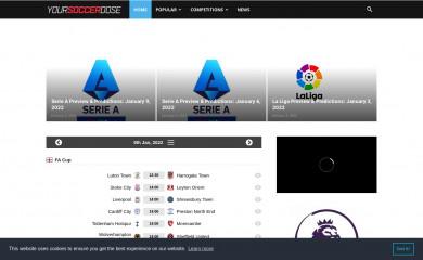 yoursoccerdose.com screenshot