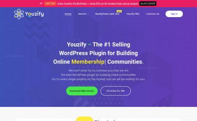 youzify.com screenshot