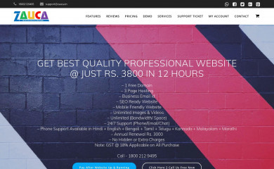 zauca.com screenshot