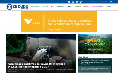 zedudu.com.br screenshot