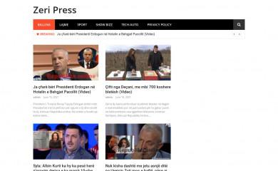 zeripress.com screenshot