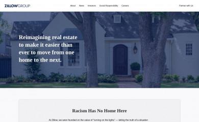 zillowgroup.com screenshot
