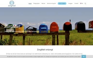 zorgmail.nl screenshot