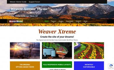 //weavertheme.com screenshot