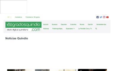 180gradosquindio.com screenshot