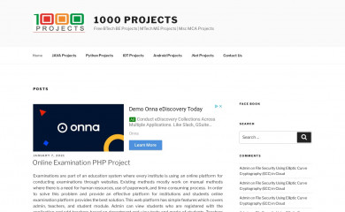 http://1000projects.org screenshot