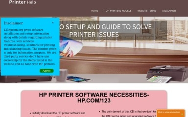 http://123hpcom.org screenshot