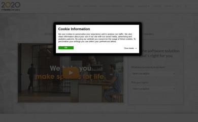2020spaces.com screenshot
