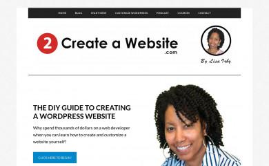 http://2createawebsite.com screenshot