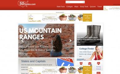 50states.com screenshot